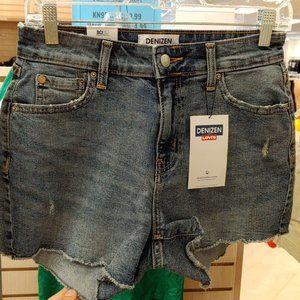 "Levi's® Women's High-Rise 3"" Jean Shorts 4 W27"